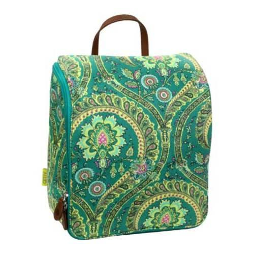 Women's Amy Butler Sweet Traveler Bag Feather Paisley Peacock