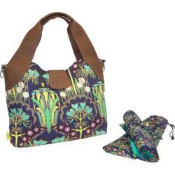Women's Amy Butler Wildflower Diaper Bag Fuchsia Tree Navy
