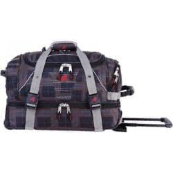 Athalon 21in Equipment Duffel with Wheels Plaid