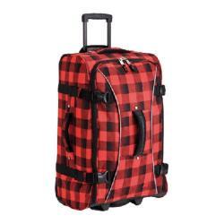 Athalon Hybrid Travelers Lumberjack 25-inch Rolling Upright Suitcase