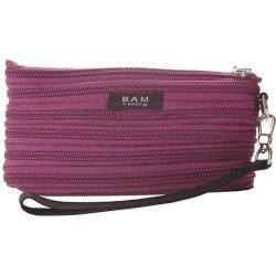 Women's BAM BAGS The Original Zippurse Wristlet (2 units) Plum
