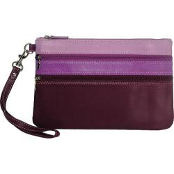Women's Belarno A212 Large Trizip Clutch Purple