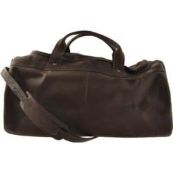David King Leather 300 Duffel Bag Cafe