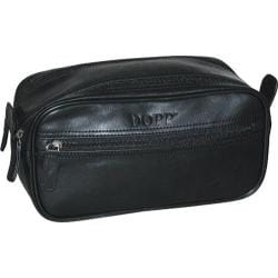 Men's Dopp Milan Soft Sided Multi-Zip Travel Kit Black
