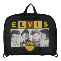 Elvis Presley Signature Product Elvis and Sun Garment Bag Black