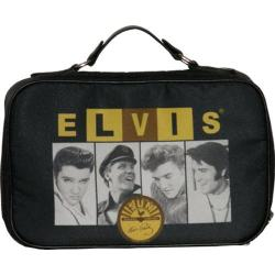 Elvis Presley Signature Product Elvis and Sun Toiletry Case Black