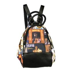 Elvis Presley Signature Product Elvis Lifetime Collage Backpack Multicolored