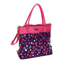 Women's Hadaki by Kalencom Tote Around Pod Bouncing Balls Berry