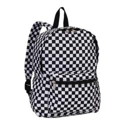 Everest Pattern Checkered Backpack