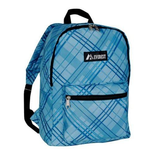 Everest Pattern Blue Plaid Backpack