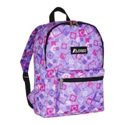Everest Pattern Purple/Pink/Lavender Square Backpack