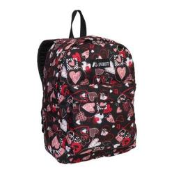 Everest Hearts Pattern Printed Backpack