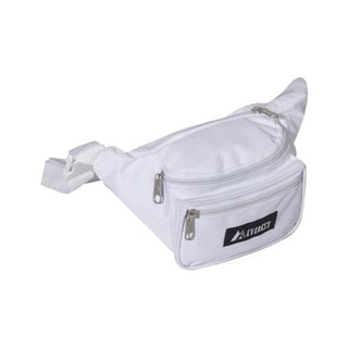 Everest Signature White Fanny Pack