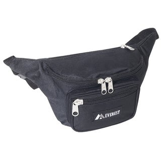 Everest Signature Black Fanny Pack