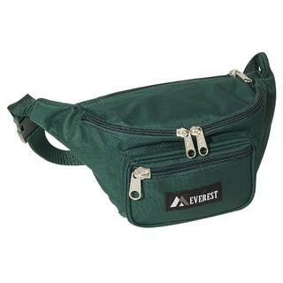 Everest Signature Green Fanny Pack