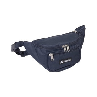 Everest Navy Signature Fanny Pack