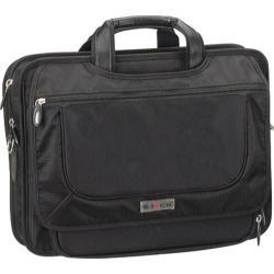G-Tech Black Amped Laptop Briefcase