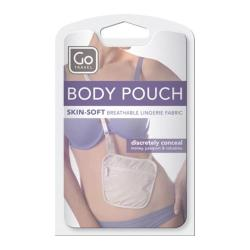 Go Travel Body Pouch (Set of 2) Beige