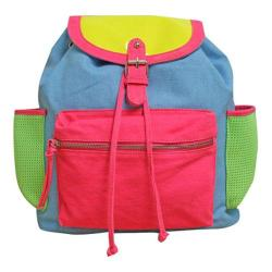 Women's Gotta Flurt Breakdown Backpack Light Blue/Multi