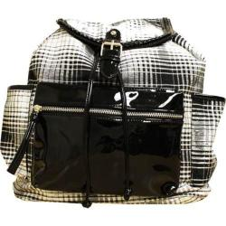 Women's Gotta Flurt Lenwood Backpack Black Plaid