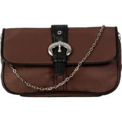 Women's Hadaki by Kalencom Clutch Chocolate/Black