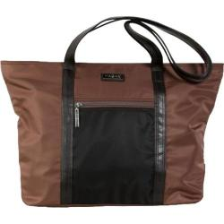 Women's Hadaki by Kalencom Cosmopolitan Tote Chocolate/Black
