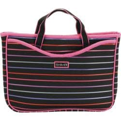 Women's Hadaki by Kalencom Neoprene 11.1 Netbook Sleeve/Tote Pencil Stripes Berry
