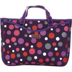 Women's Hadaki by Kalencom Neoprene 15.4 Laptop Sleeve/Tote Bouncing Balls Berry