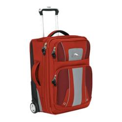 High Sierra 22in Carry-On Wheeled Upright Lava/Red Clay/Ash