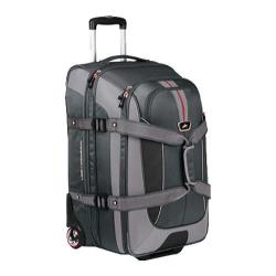 High Sierra 26in Expandable Wheeled Duffel Greystone/Shadow/Black