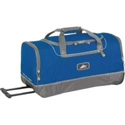 High Sierra 28in Wheeled Cargo Bag Ultra Blue/Charcoal