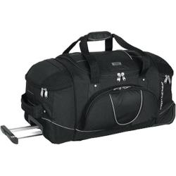 High Sierra 30in Wheeled Duffel with Backpack Straps Black