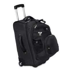 High Sierra Carry-On Wheeled Backpack with R Black
