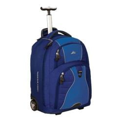 High Sierra Freewheel Wheeled Book Bag True Navy/Pacific