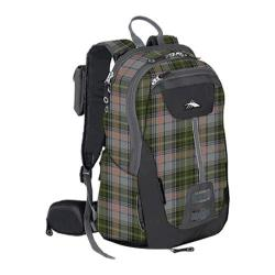 High Sierra Seeker 22L Pack Green Gray Plaid