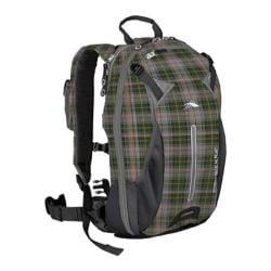 High Sierra Symmetry 28L Pack Green Gray Plaid