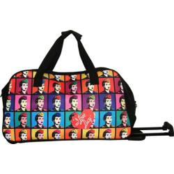 I Love Lucy Signature Rolling Carry On Duffel Bag