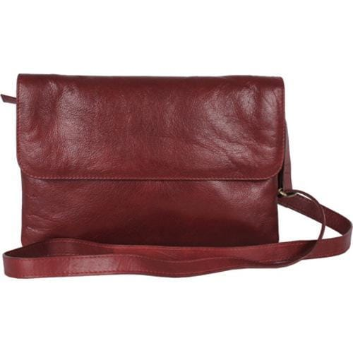 Women's Latico Aline Convertible Bag 7971 Burgundy Leather