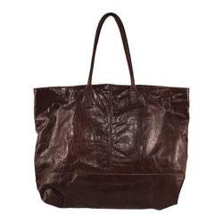 Women's Latico Baker Tote 7811 Blackberry Leather