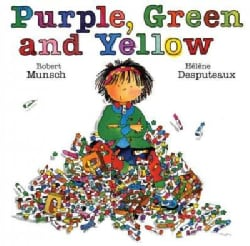 Purple, Green and Yellow (Paperback)