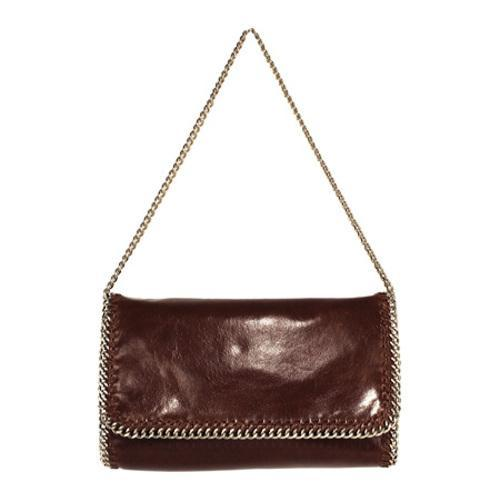 Women's Latico Crawford Chain Shoulderbag 7906 Brown Leather
