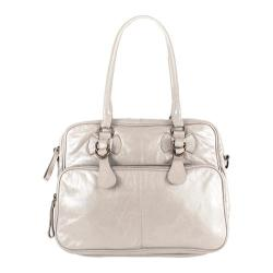 Women's Latico Fay 2593 Metallic White Leather