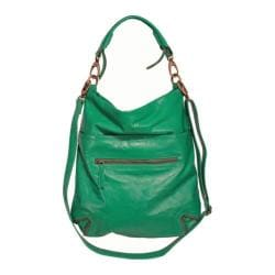 Women's Latico Francesca Hobo 7969 Green Leather