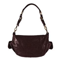 Women's Latico Gianna Hobo 7956 Blackberry Leather