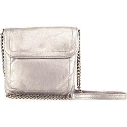 Women's Latico Gilda Cross Body 7888 Metallic White Leather