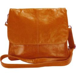 Women's Latico Jamie Cross Body/Shoulder Bag 7991 Orange Leather