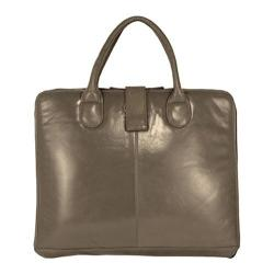 Women's Latico Jennette Laptop Brief 7638 Steel Leather