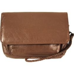 Women's Latico Keelan Wristlet 7922 Mocha Leather