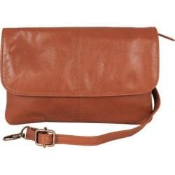 Women's Latico Lidia Crossbody Bag 7981 Tan Leather
