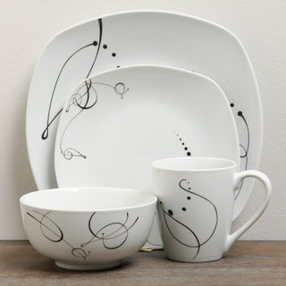TTU Gallery 'Pescara' 16-piece Dinnerware Set